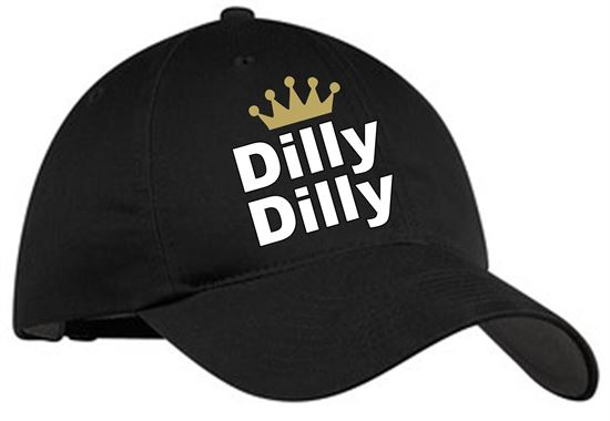 Picture of Dilly Dilly Nike Golf Unstructured Twill Cap 580087