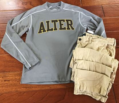 Picture of Alter Long Sleeve Wicking Tee by Charles River 3137