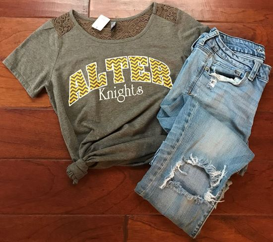 Picture of Alter Knights District Made Ladies Shirt