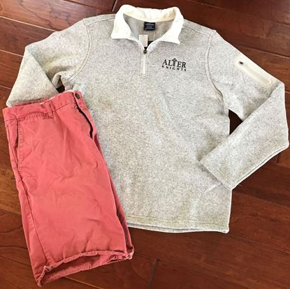 Picture of Alter Knights Unisex Soft Heathered Fleece Zip Pullover by Charles River 9312