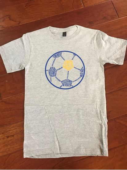 Picture of Bishop Leibold Youth & Unisex Soccer Tee by District DT6000/DT6000Y - Grey ONLY 1 LEFT!!