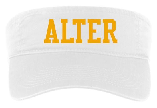 Picture of Alter Visor by Port & Company CP45 - White