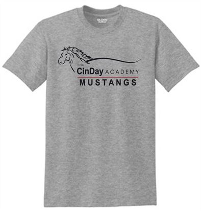 Picture of CinDay Academy Gym Tee 8000/8000b