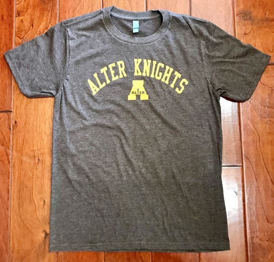 Picture of Alter Knights Unisex Very Important Tee by District DT6000 - Brown