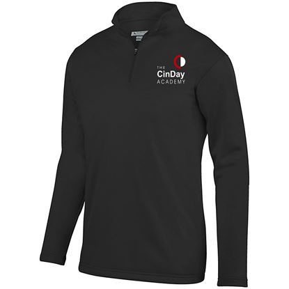 Picture of CinDay Academy Youth 1/4 Zip Wicking  Pullover by Augusta 5508