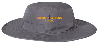 Picture of Bishop Leibold Bucket Hat by The Game GB400 - Dark Grey, Royal or White