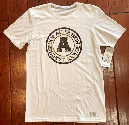 Picture of Archbishop Alter Youth Essential Tee by Russell 64STTB - White