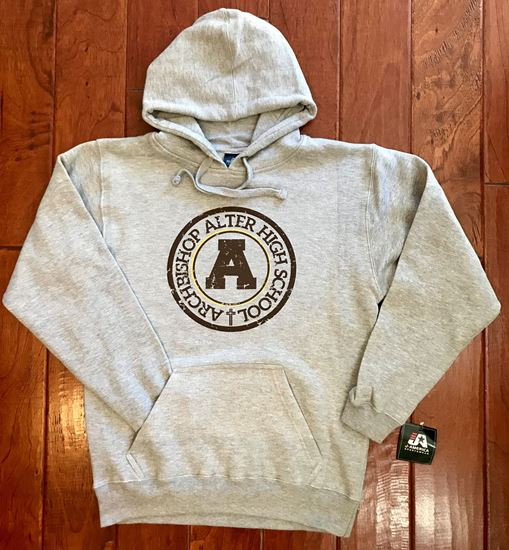 Picture of Archbishop Alter Unisex Premium Hooded Sweatshirt by J. America 8824 - Oxford