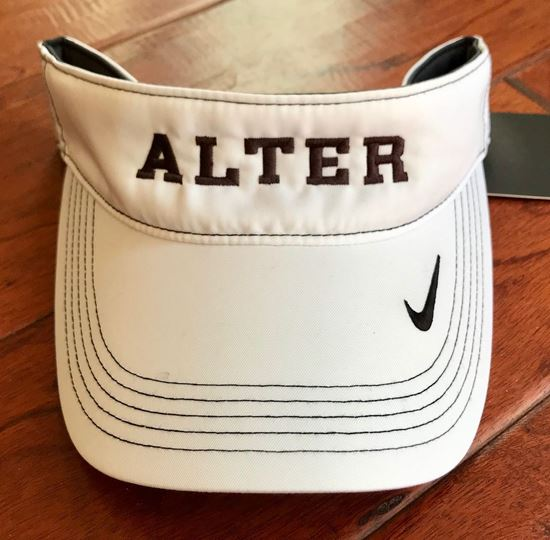 Picture of Alter Nike Visor by Sanmar 429466 - White