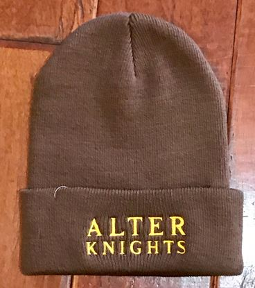 Picture of Alter Knights Knit Cap by Port & Company CP90 - Brown