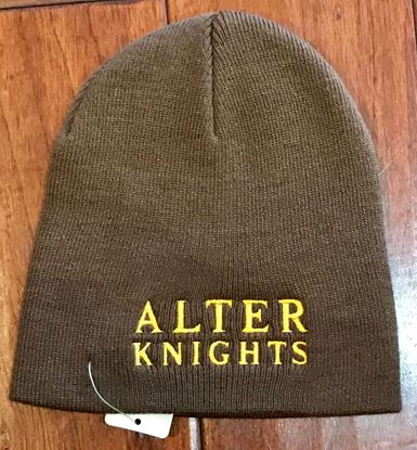 Picture of Alter Knights Knit Skull Cap by Port & Company CP94 - Brown