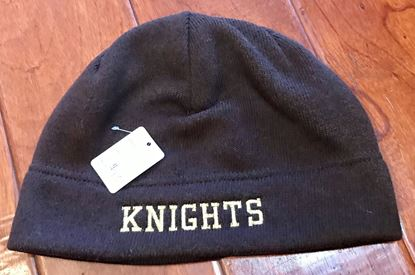 Picture of Knights Heathered Knit Beanie by Port Authority C917 -  Brown