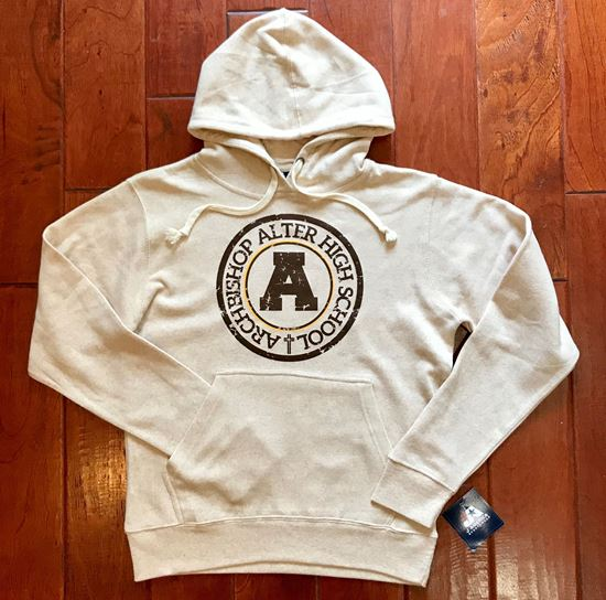 Picture of Archbishop Alter Unisex Light Weight Hoodie by J. America 8871 - Oatmeal ONLY 2 SIZES LEFT!!