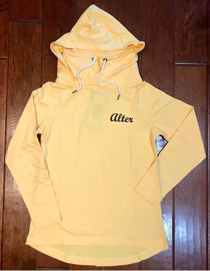 Picture of Alter Ladies Essex Hood & Cowl Tunic by Charles River 5051 - Sunflower ONLY 1 LEFT!!