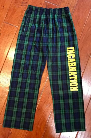 Picture of Incarnation Unisex Flannel Pants by Boxercraft F24 - Blackwatch
