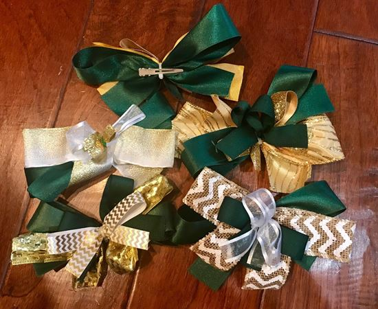 Picture of Incarnation Hair Bow - Various Designs - Pony tail or Clip