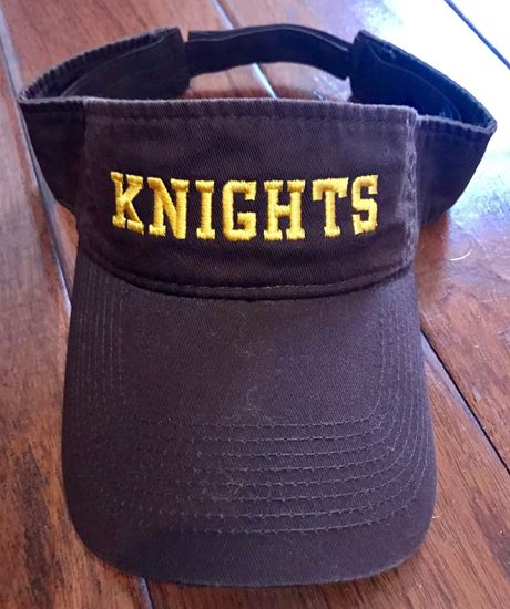 Picture of Alter Knights Visor by Port & Company CP45 - Brown
