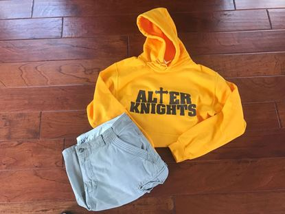 Picture of Alter Knights Hoodie by Gildan 18500 - Gold