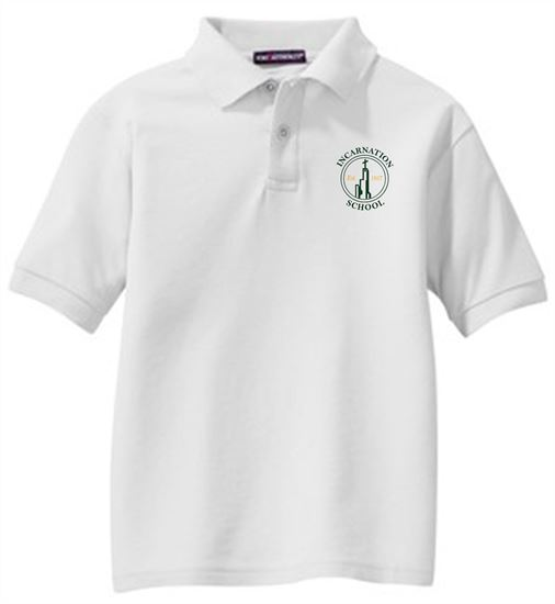 Picture of Incarnation Youth Short Sleeve Uniform Polo by Port Authority Y500