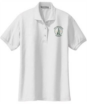 Picture of Incarnation Ladies Short Sleeve Uniform Polo by Port Authority L500