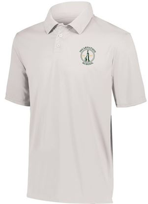 Picture of Incarnation Youth Dri Fit Short Sleeve Uniform Polo by Augusta 5018