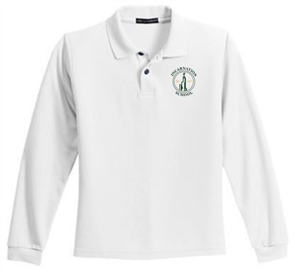 Picture of Incarnation Youth Long Sleeve Uniform Polo by Port Authority Y500LS