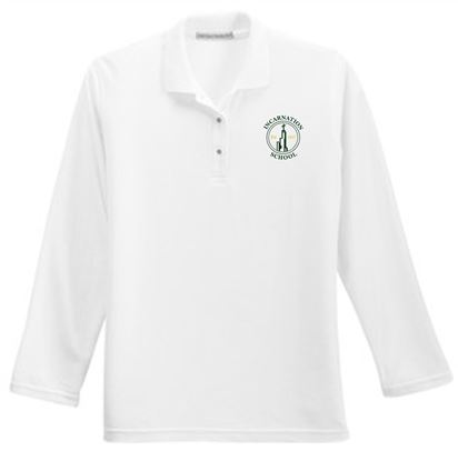 Picture of Incarnation Ladies Long Sleeve Uniform Polo by Port Authority L500LS