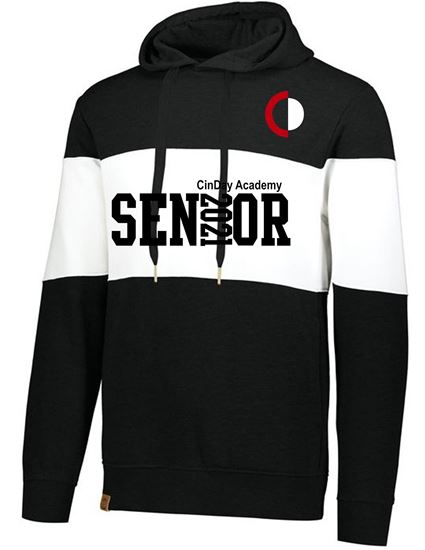 Picture of CinDay Senior 2021 Heavy Weight Hoodie Full Block 229563