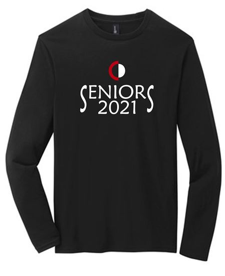 Picture of CinDay Senior 2021 CD Long Sleeve Tee DT6200