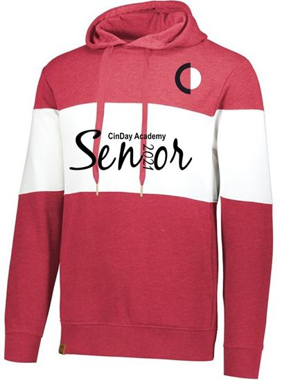 Picture of CinDay Senior 2021 Heavy Weight Hoodie Script 229563