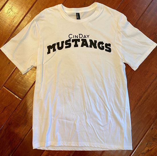 Picture of CinDay Mustangs Very Important Tee by District DT6000