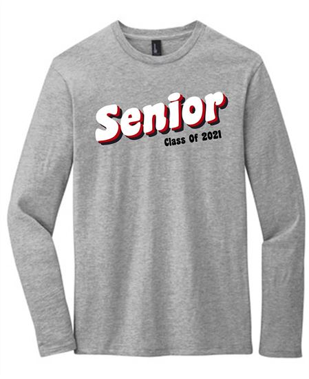 Picture of CinDay Senior Class of 2021 Long Sleeve Tee DT6200