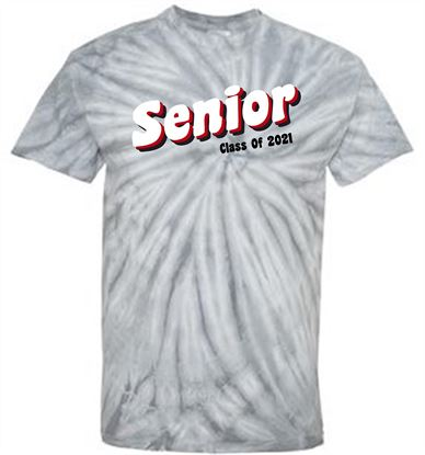 Picture of CinDay Senior Class of 2021 Tie Dye Tee 200CY