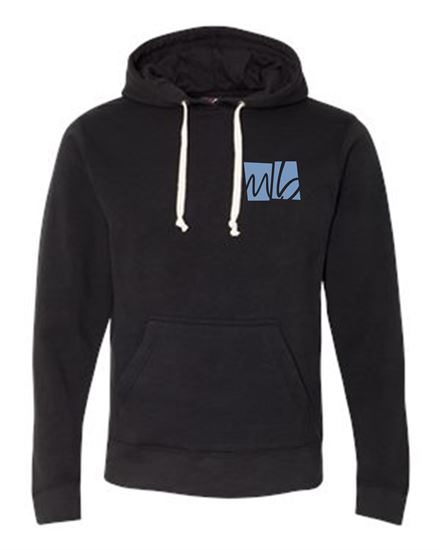 Picture of McGohan Brabender Unisex Light Weight Hoodie by J. America 8871 - Black, Grey, White