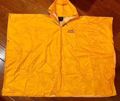 Picture of Alter Knights Unisex Packable Rain Poncho by Stormtech PCX-1 Gold ONLY ONE LEFT!!