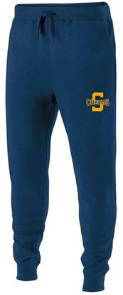 Picture of St. Charles Youth Joggers by Holloway 229648 - Navy