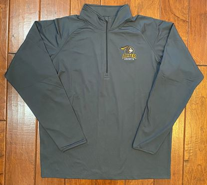 Picture of Alter Knights Halo Logo Unisex 1/4 Zip Pullover by Sport Tek ST850 - Charcoal Grey