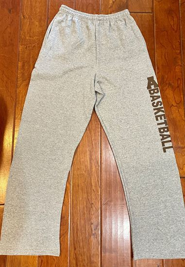 Picture of Alter Basketball Sweatpants by Jerzees 974MP - Oxford ONLY 1 LEFT!!