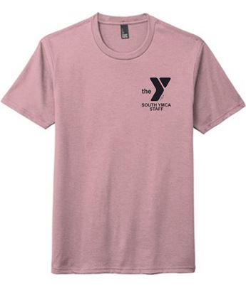 Picture of YMCA Unisex Silk Spun Cotton Short Sleeve Tee by District DM130