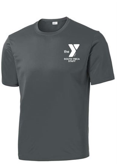 Picture of YMCA Unisex Dri Fit Short Sleeve Tee by Sport Tek ST350