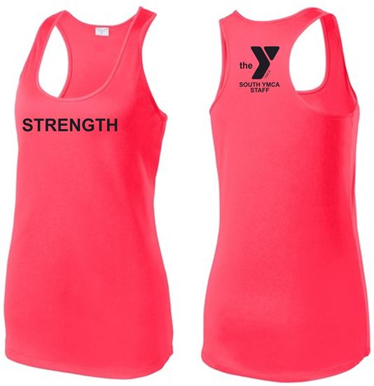 Picture of YMCA Ladies Posicharg Competitor Racerback Tank by Sport-Tek LST356