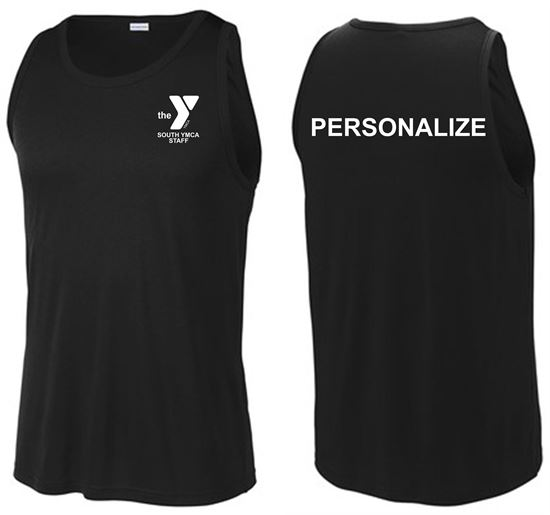 Picture of YMCA Unisex PosiCharge Competitor Tank by Sport-Tek ST356