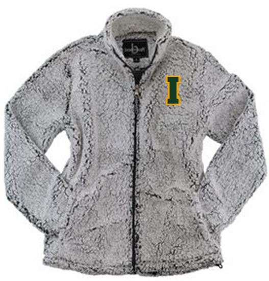 Picture of Incarnation Youth Full Zip Sherpa by Boxercraft YQ12 - Frosty Grey or Charcoal