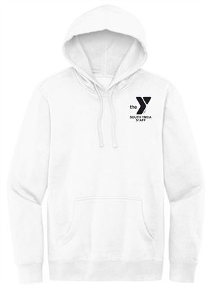 Picture of YMCA Unisex Ring Spun Cotton Fleece Hoodie by District DT6100