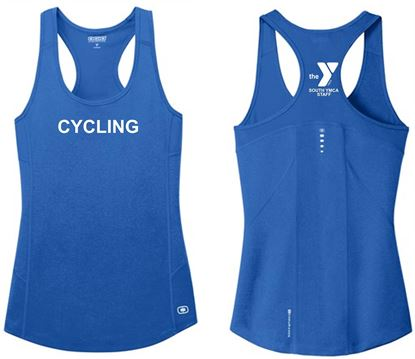 Picture of YMCA Ladies Racerback Pulse Tank by Ogio Endurance LOE322