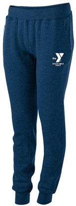 Picture of YMCA Ladies Fleece Joggers by Holloway 229748