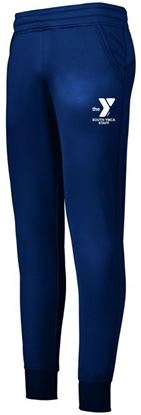 Picture of YMCA Ladies Performance Fleece Joggers by Augusta 5568