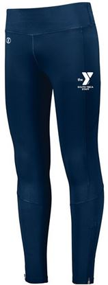 Picture of YMCA Ladies High Rise Tech Tight by Holloway 221398