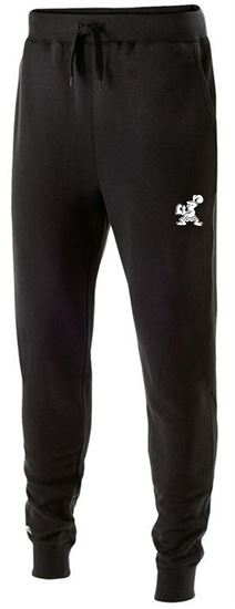 Picture of Incarnation Unisex Fleece Joggers by Holloway 229548 - Black, Navy or Carbon Heather