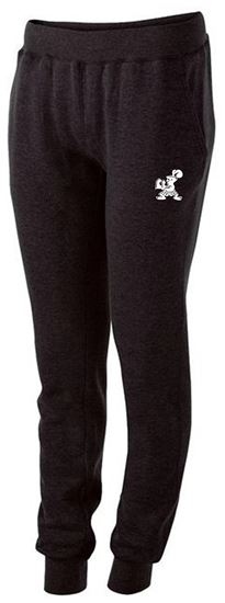 Picture of Incarnation Ladies Fleece Joggers by Holloway 229748 Black, Navy or Carbon Heather